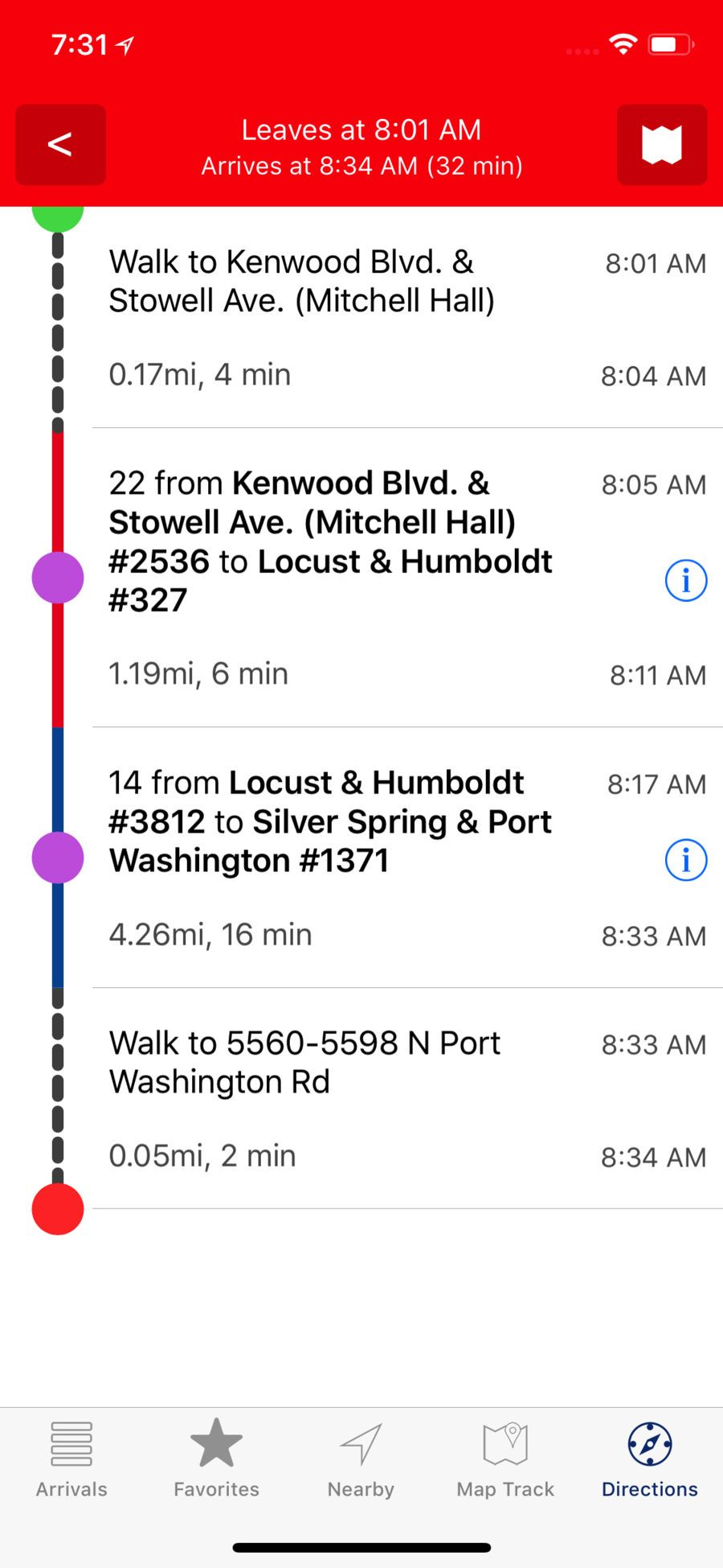mcts tracker app