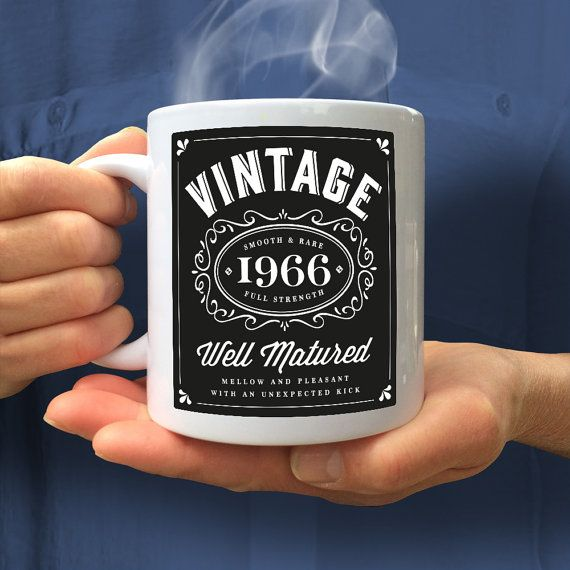50th Birthday 1966 Gift Idea Vintage Bourbon Happy Present For 50 Year Old