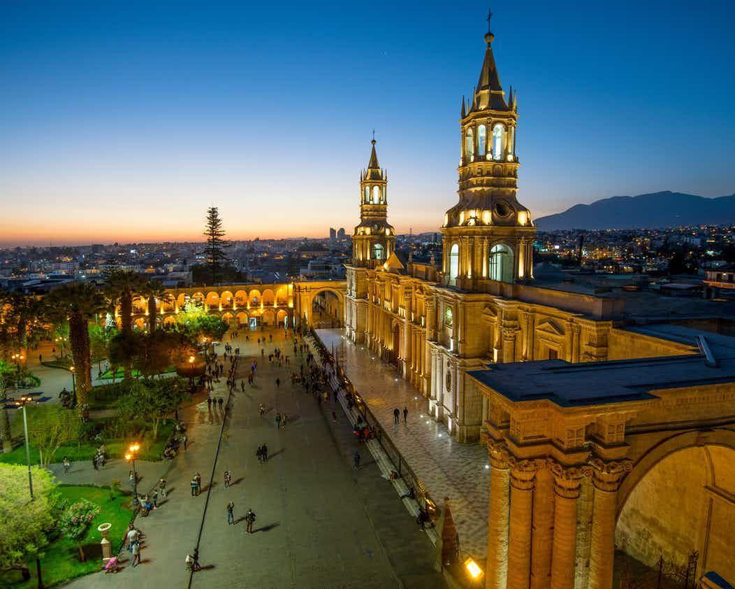 Arequipa boasts an impressive Plaza de Armas