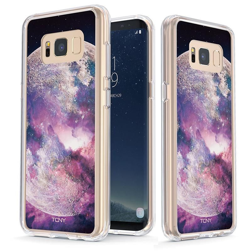 Bright Side of the Moon Slim Protective Case for Galaxy S8 Plus