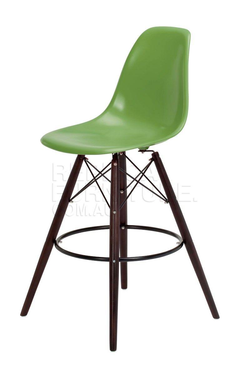 Replica Charles Eames Style Bar Stool Dark Leg Bar Stools Online