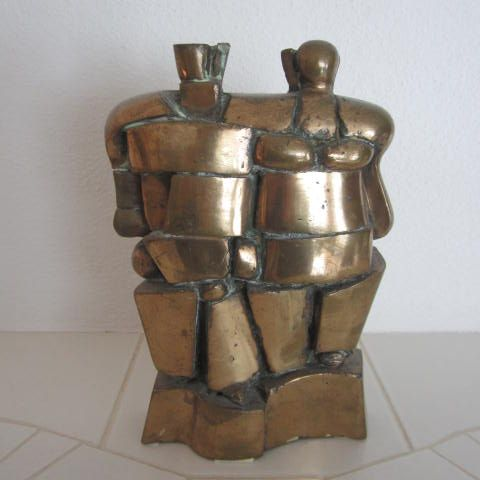 The couple #bronze #art