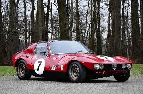 Alfa Romeo Giulia TZ Prototipo Berlinetta