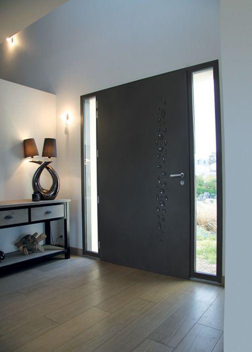 Porte d\u0027entrée aluminium Galet   wwwbelmfr/porte-entree-galet