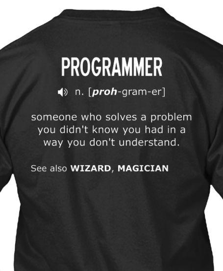2928498f Interesting Definition. Nerd Humor · Geek Tshirts · Programmer: