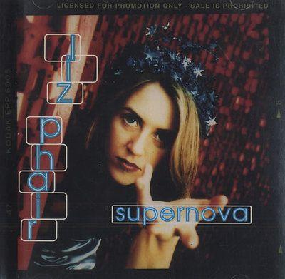 5x LIZ PHAIR '94-03 Supernova 2trk PROMO +Whip-Smart +WhiteChocolateSpaceEgg cds +PROMO stickers