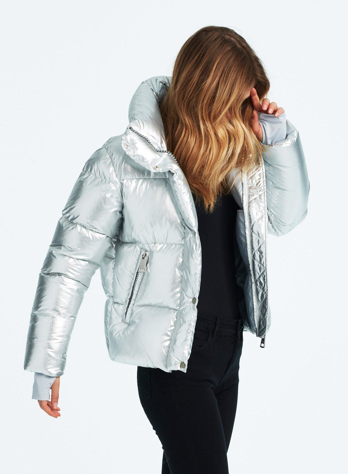 Andi Silver Ice Jackets Puffer Jacket Women Ski Jacket Women [ 1634 x 1200 Pixel ]