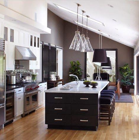 Cocinas modernas con isla cocinas Pinterest Cocina moderna - cocinas con isla