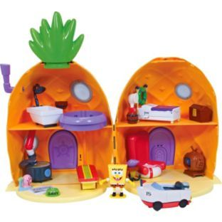 Buy SpongeBob SquarePants Pineapple House Playset at Argos