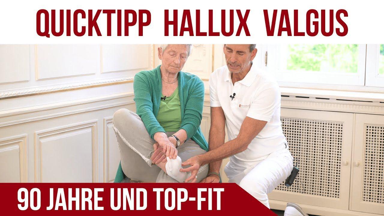 Rolands Tipp bei Hallux Valgus | 90 Jahre und TopFit | Liebscher & Bracht - YouTube
