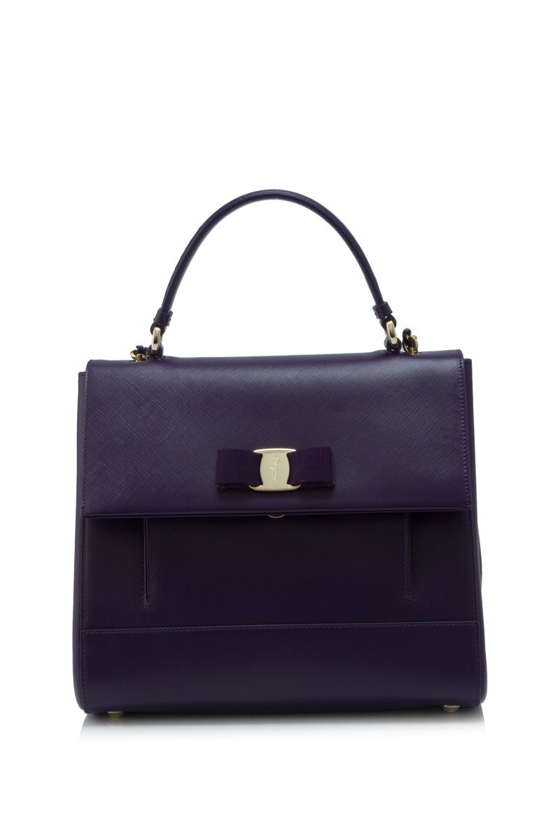 6d7082a7b85d Salvatore Ferragamo Carrie Mora Purple (Designer Colour) - SALVATORE  FERRAGAMO