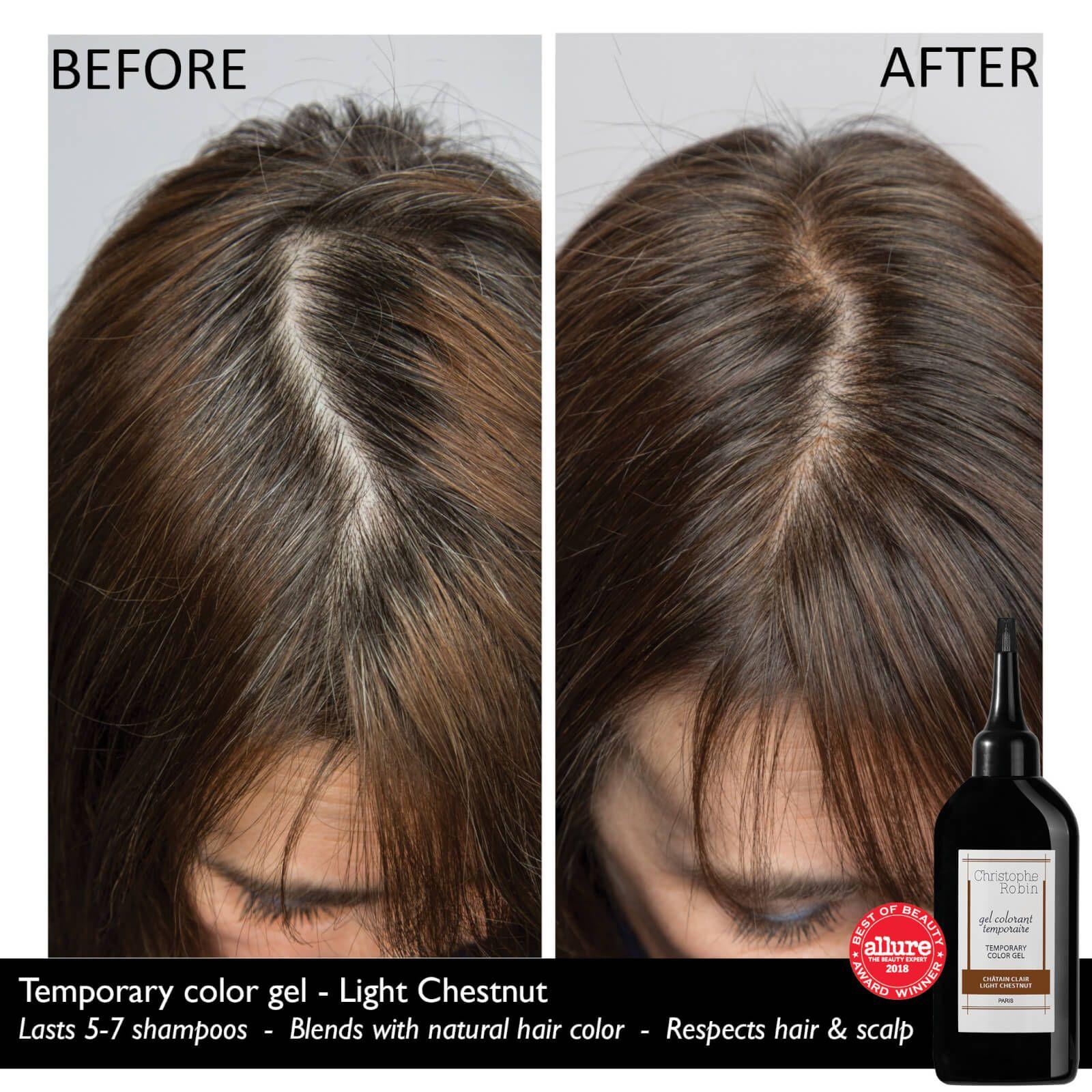 Christophe Robin Temporary Color Gel Light Chestnut 100ml In 2021 How To Lighten Hair Vibrant Hair Colors Hair To Go