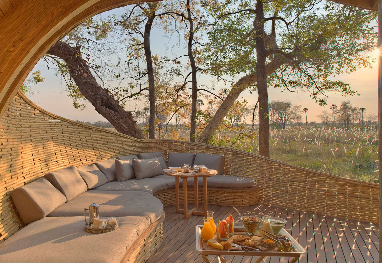 De Haute Qualite Sandibe Okavango Safari Lodge In Botswana