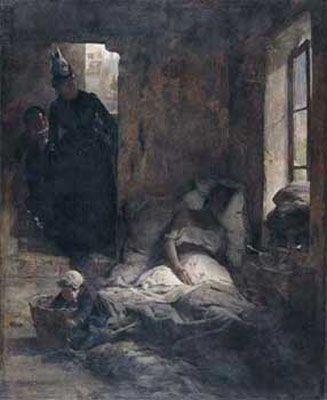La Caridad, 1888 Arturo Michelena.  (1863-1898)