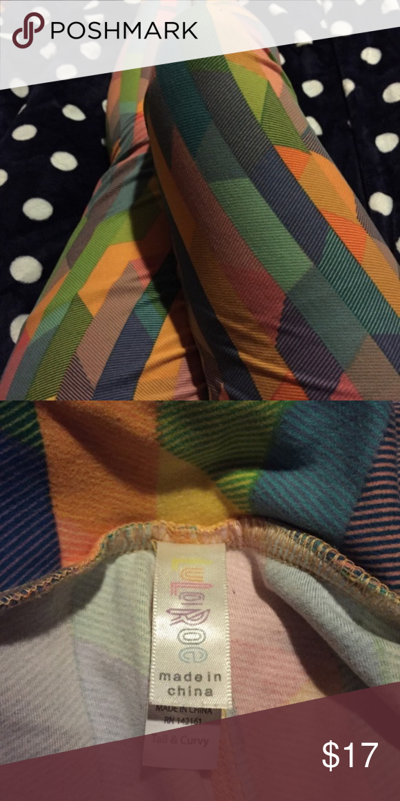 cec6f4ce9b9fba Spotted while shopping on Poshmark: Lularoe TC Leggings Yellow Pattern EUC!  #poshmark #fashion #shopping #style #LuLaRoe #Pants