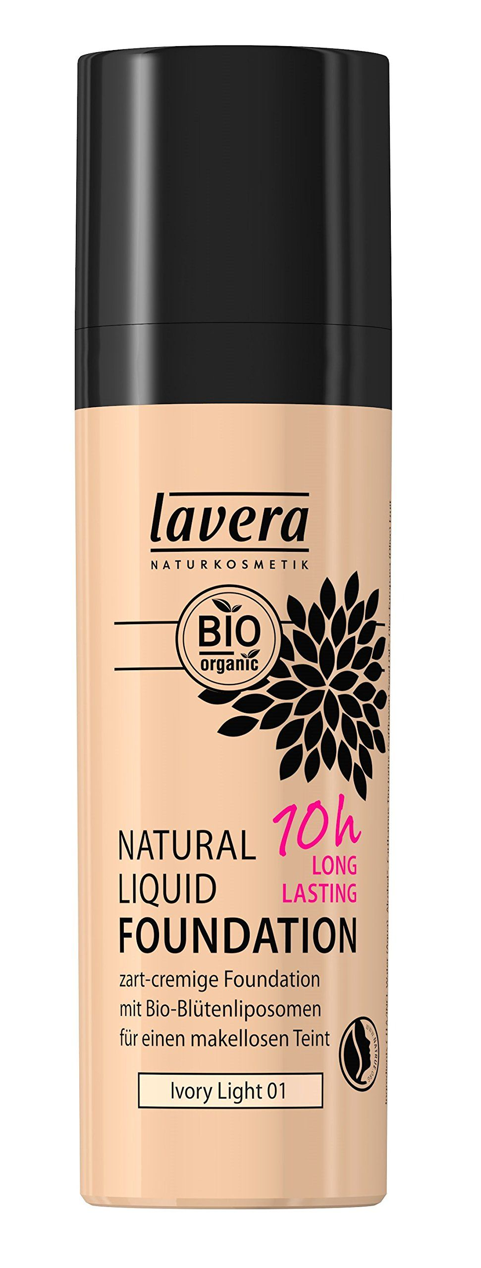 Lavera Natural Liquid Foundation Makeup 10Hour Long