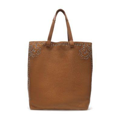 SHOPPER MIT METALLVERZIERUNG - Handtaschen - Damen | ZARA Deutschland