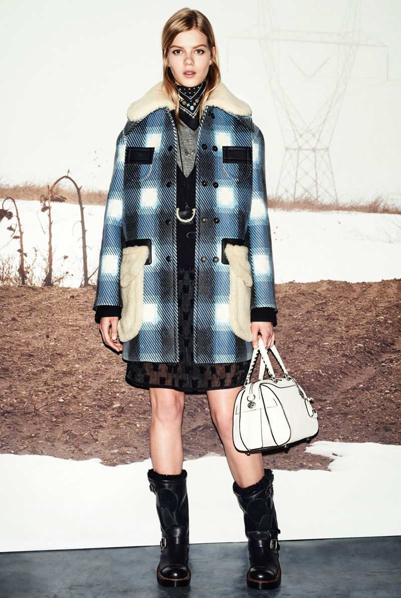 Coach goes mad for plaid!| See the top 10 trends developing for Fall 2015