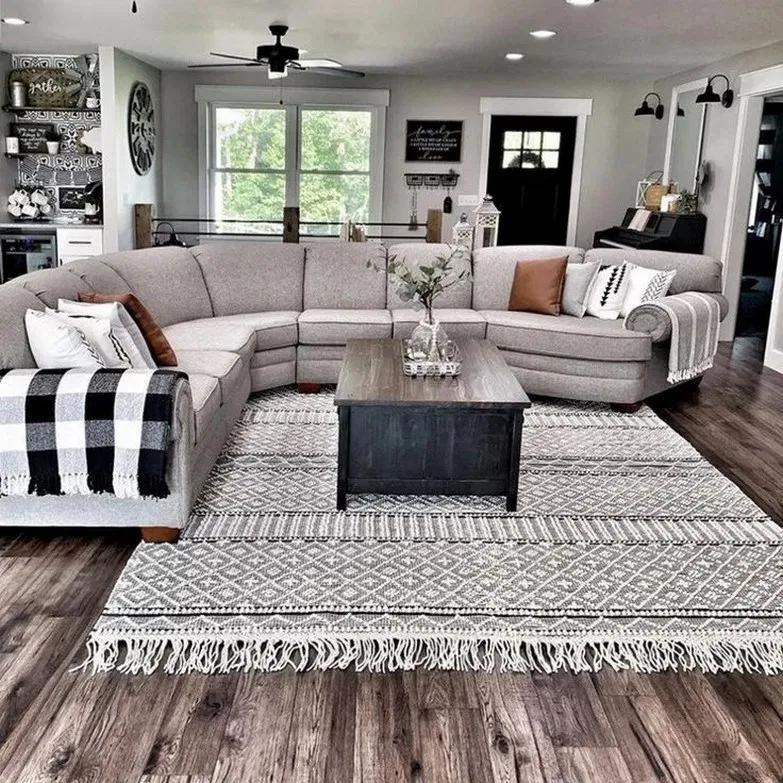 Top 62 Rustic Living Room Ideas 2020 59 Farm House Living Room Living Room Sofa Design Modern Farmhouse Living Room
