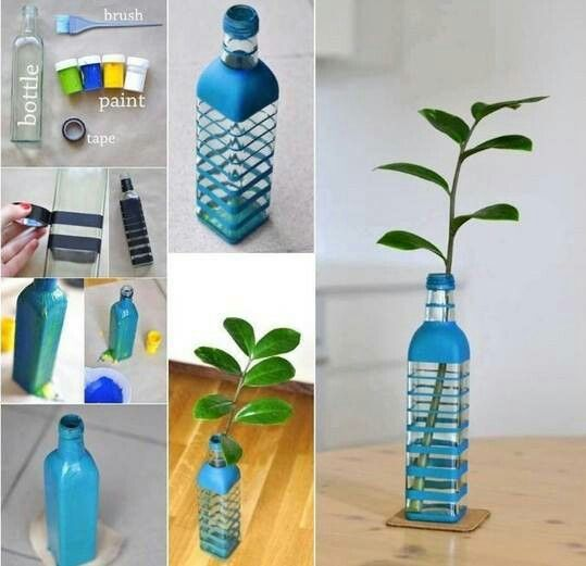 How To Use Waste Bottles For Decoration Pinmiriam Vaca On Diy & Rrr  Pinterest