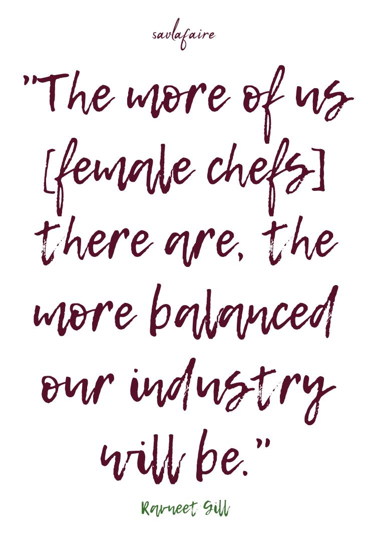 Spotlight on Chefs Ravneet Gill Interview Inspirational