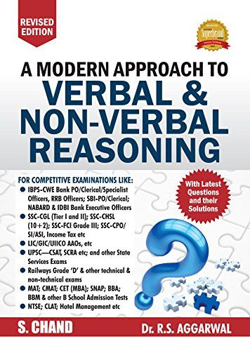 A modern approach to verbal and non verbal reasoning books to a modern approach to verbal and non verbal reasoning fandeluxe Gallery