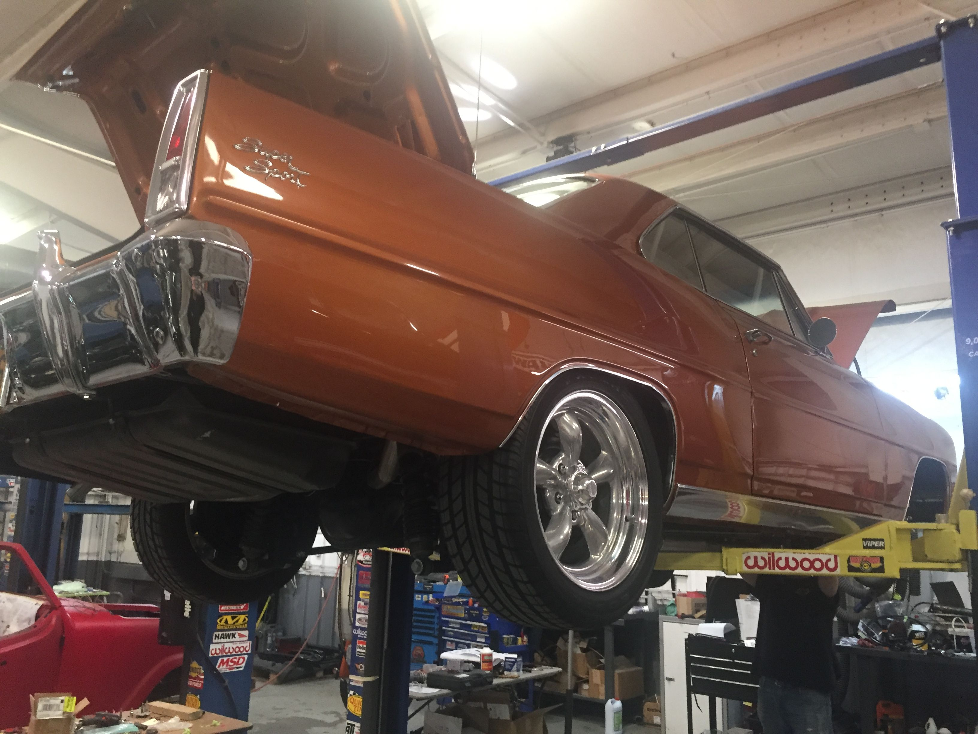Classic Chevy Nova project here st Quarter Mile Muscle. 👍 When your ...