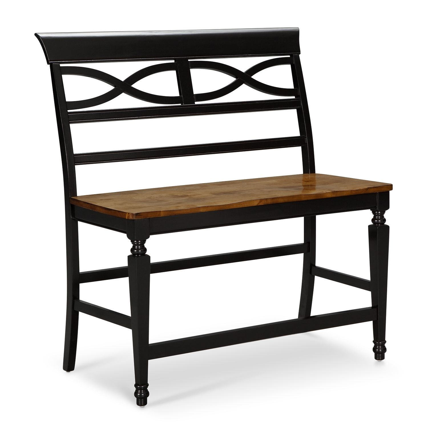 Chesapeake Counter Height Bench With Cool Design