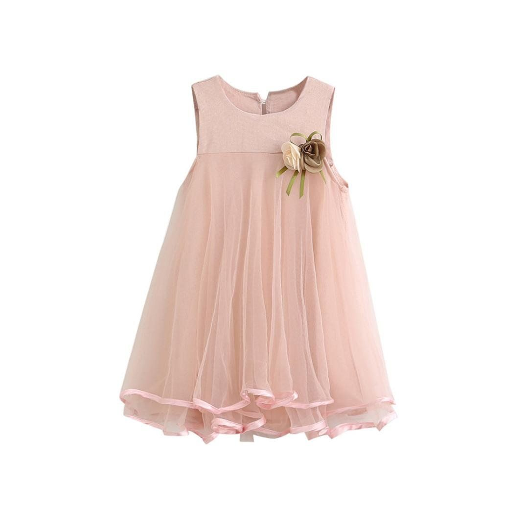 : Hemlock Little Girl Chiffon Dress Sleeveless