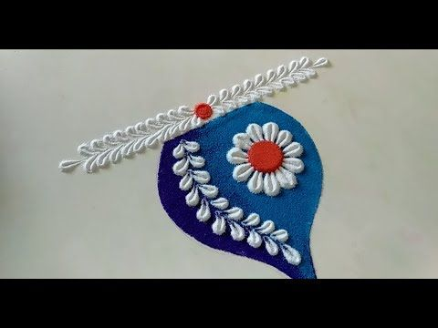 Diwali special unique rangoli design 2019