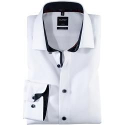 Photo of Olymp Luxor shirt, modern fit, extra short arm, white, 45 Olymp