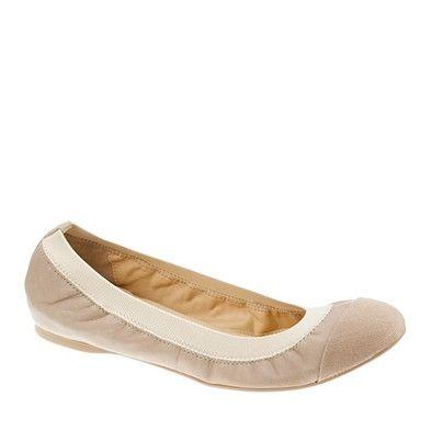Mila ballet flats / JCrew