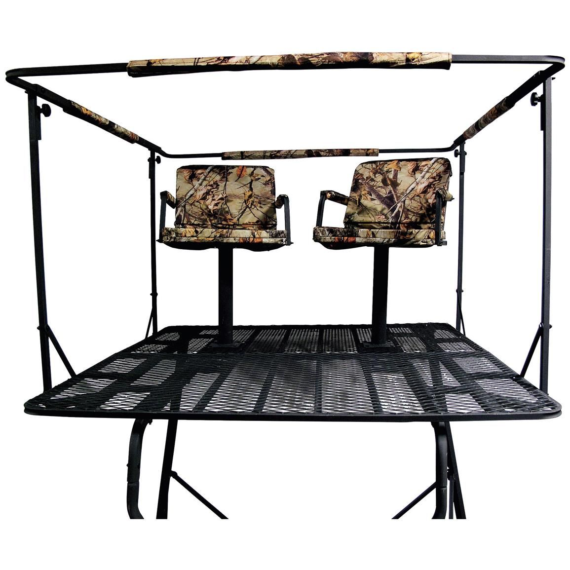 Guide Gear 2 Man 12 Tower Tree Stand Deer Stand Plans Tripod Deer Stand Hunting Stands