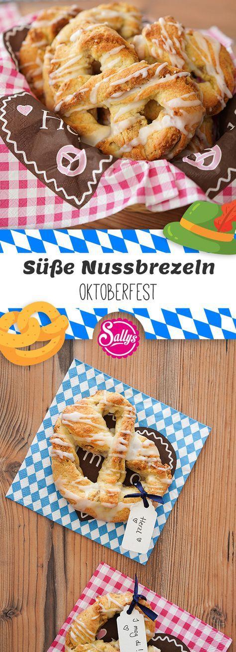 Süße Nussbrezeln / Oktoberfest | BACKEN MIT GLOBUS & SALLYS WELT #63 #festmad