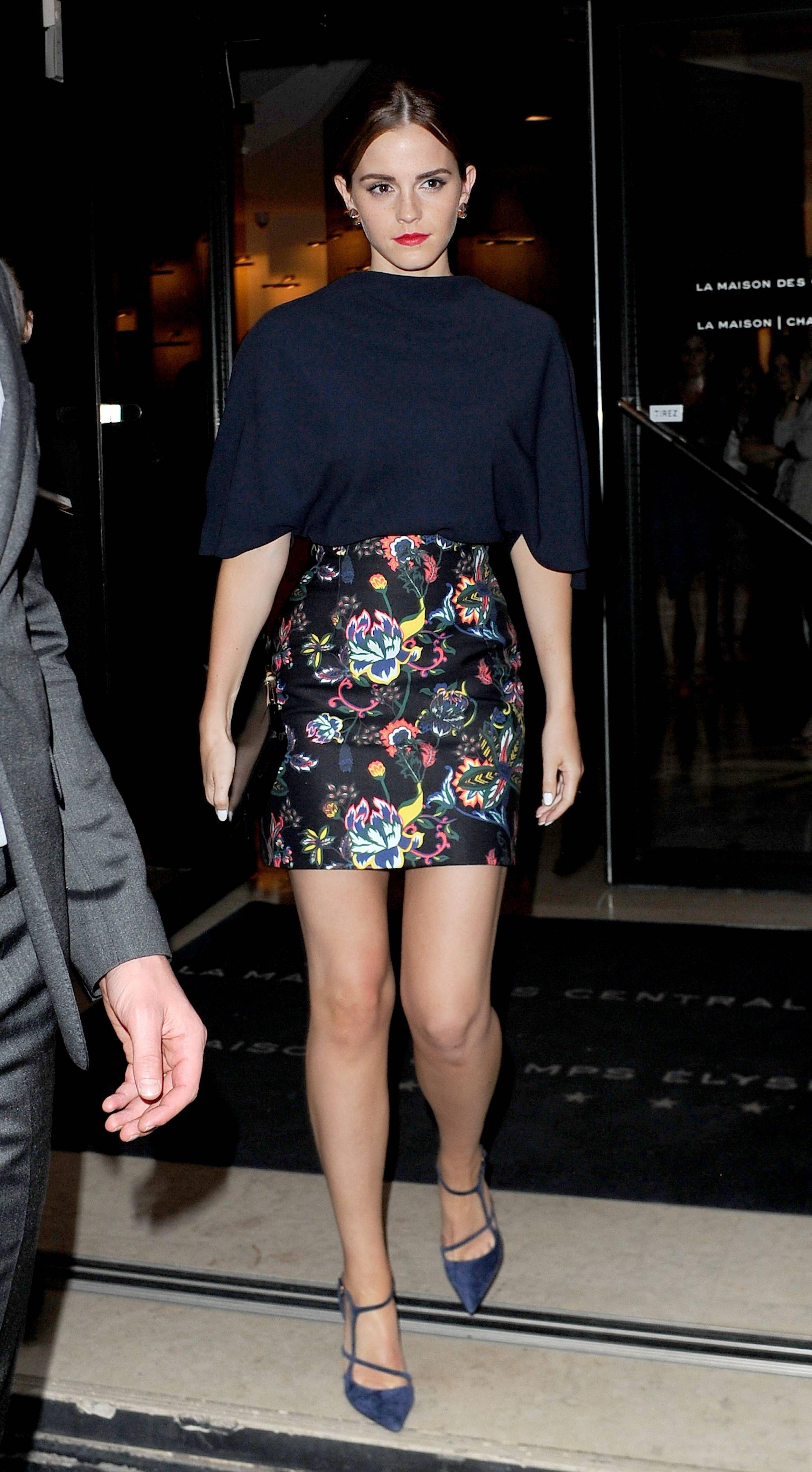 Emma Watson: Emma at Dior afterparty