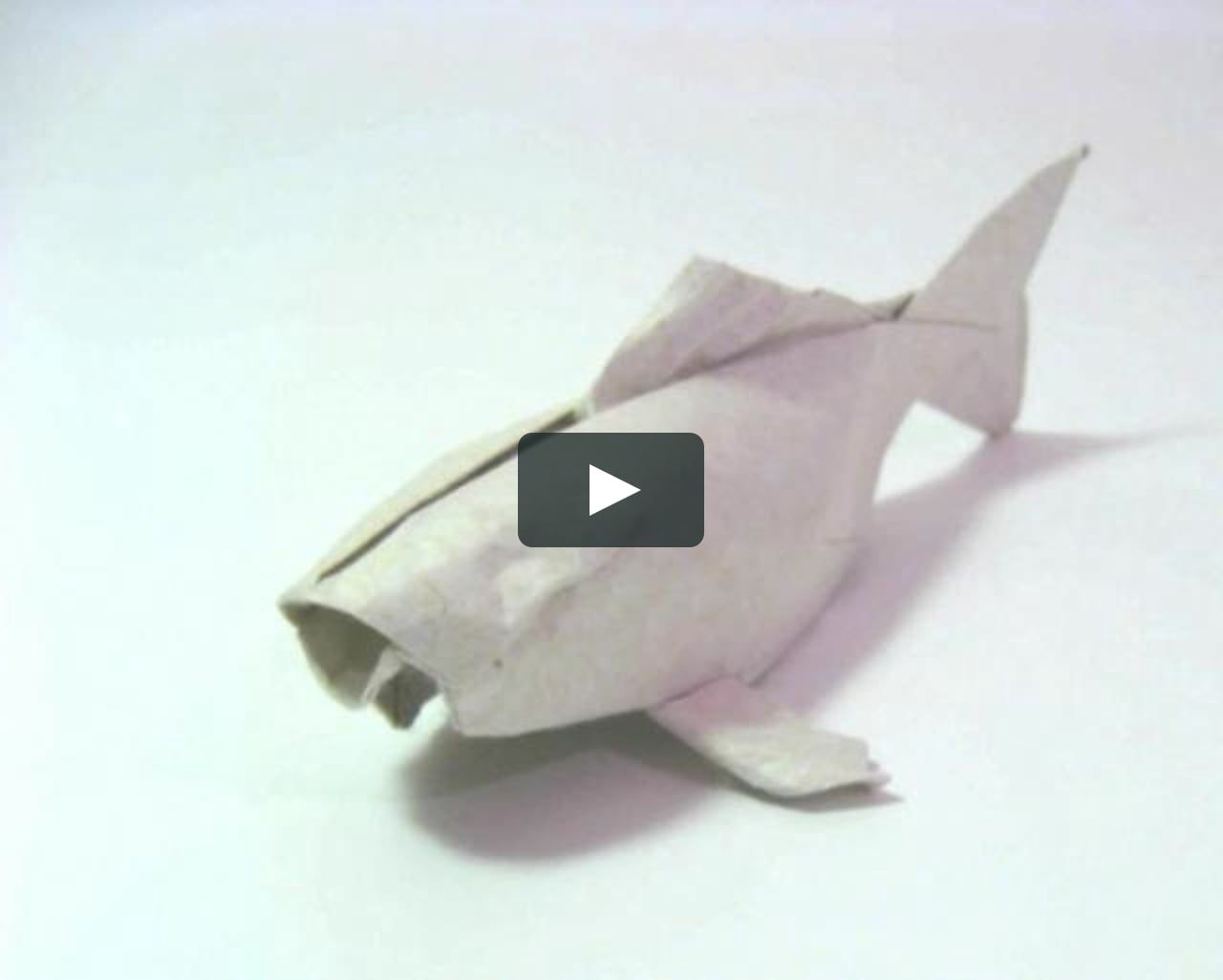 THE MAKING OF AN ORIGAMI KOI | paper and folding | Origami ... - photo#18