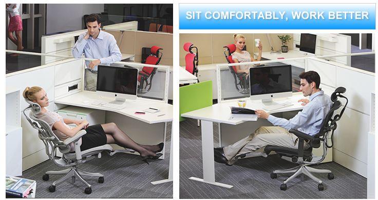 Ergohuman plus legrest office chair ergonomic chair