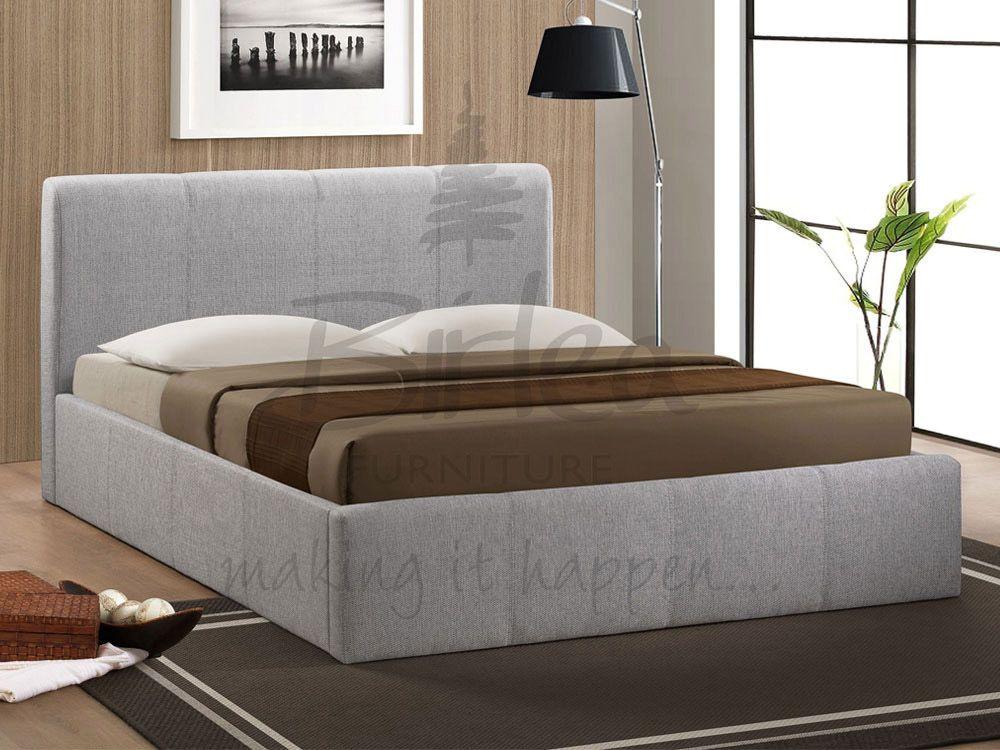 Brooklyn Grey King Size Ottoman Bed New Bedroom Pinterest