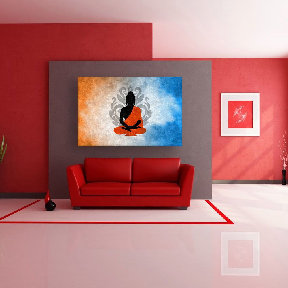 Canvas Painting Beautiful Buddha Art Modern Wall Painting For