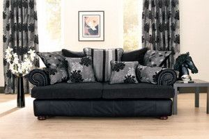 sofa covers black