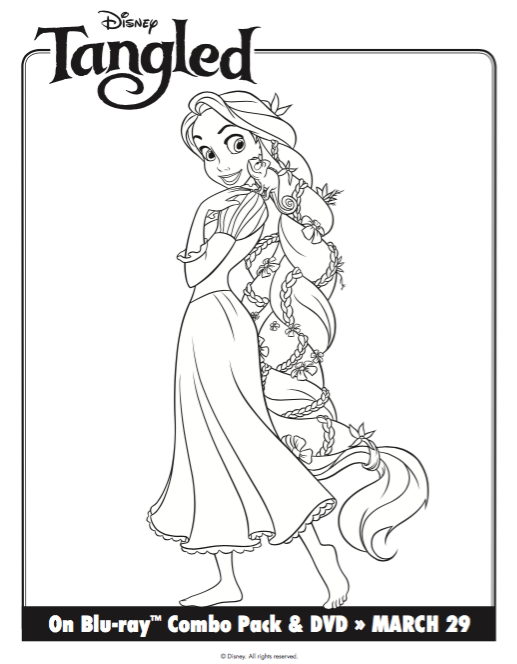 Free Printable Tangled Rapunzel Coloring Pages Activity Sheets Classy Mommy In 2021 Disney Princess Coloring Pages Rapunzel Coloring Pages Princess Coloring Pages