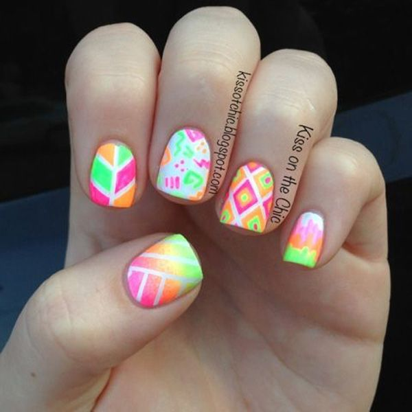 Gradient Nail Art: 40+ Fabulous Gradient Nail Art Designs