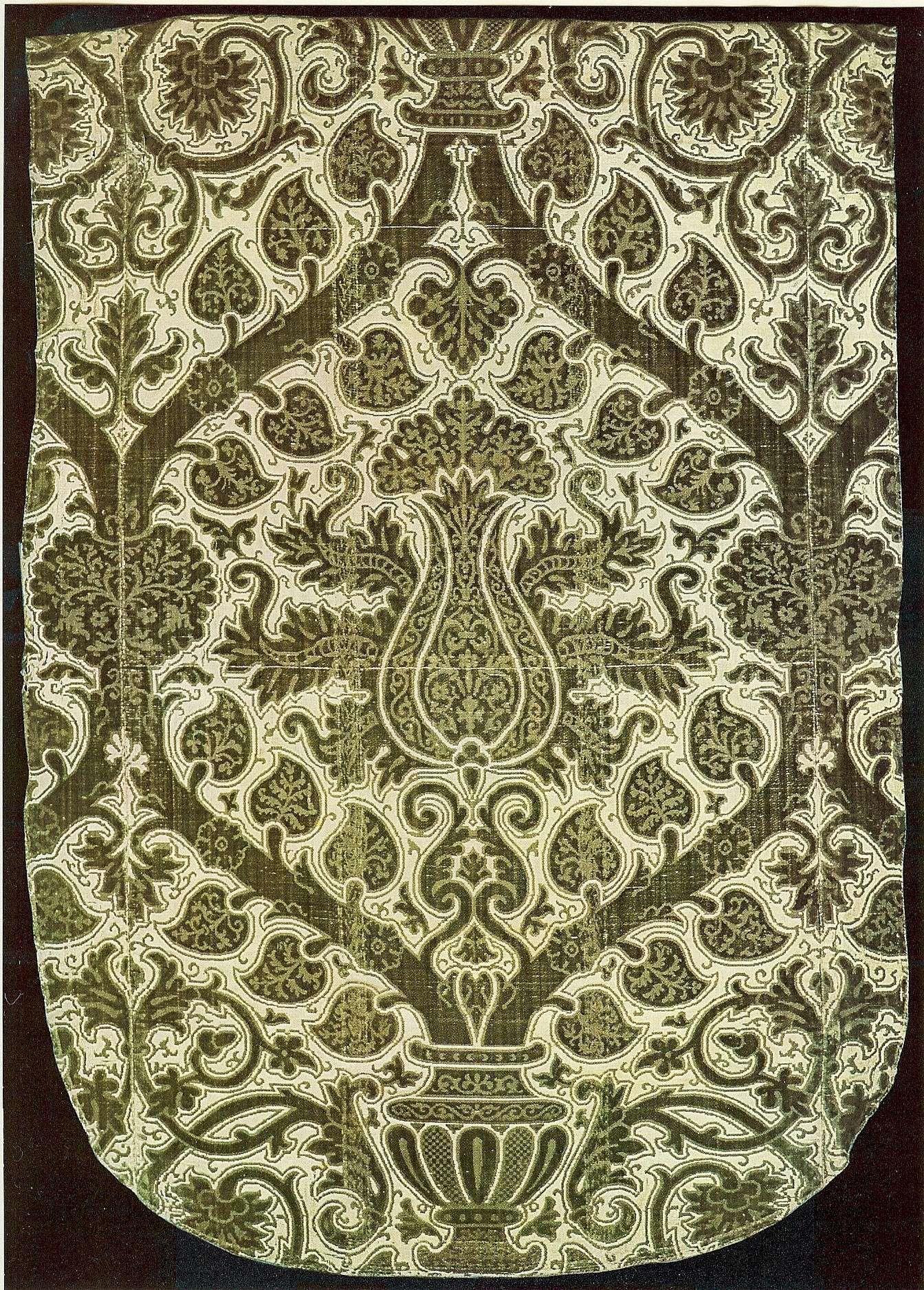Pin Su Textile Pattern Silk Velvet