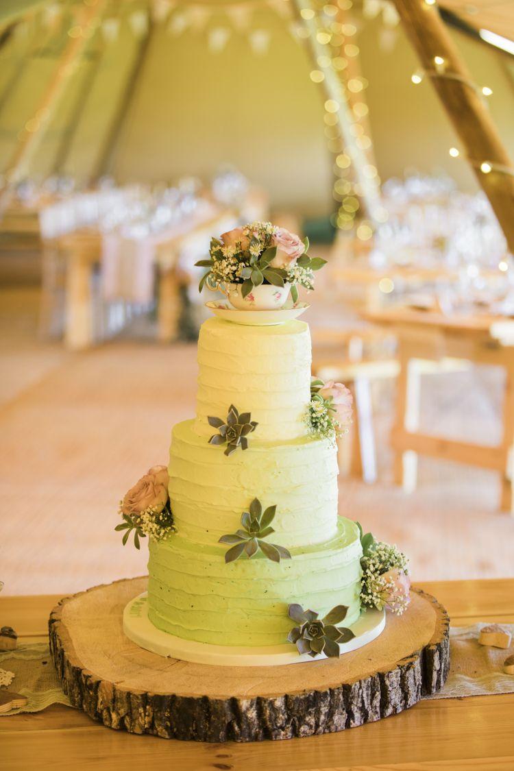 Unique Country Farm Tipi Wedding | Vineyard Wedding Cake | Pinterest ...