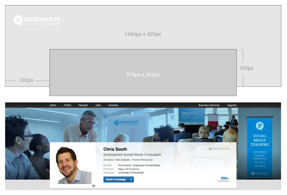 A background image size - Linkedin Background Sizes Google Search