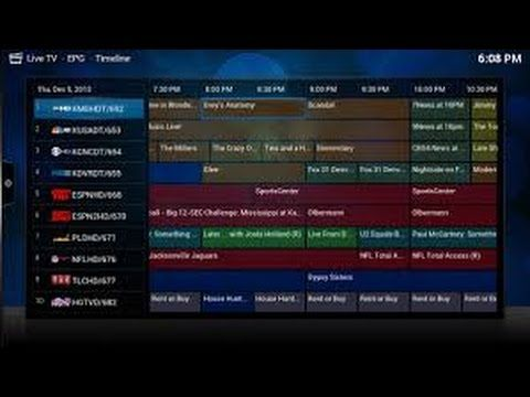 xbmc kodi the best live tv add on live tv guide setup rh pinterest com XBMC Live TV Cable XBMC Media Center Remote