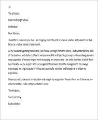 Image Result For Resignation Letter Format For Personal Reasons