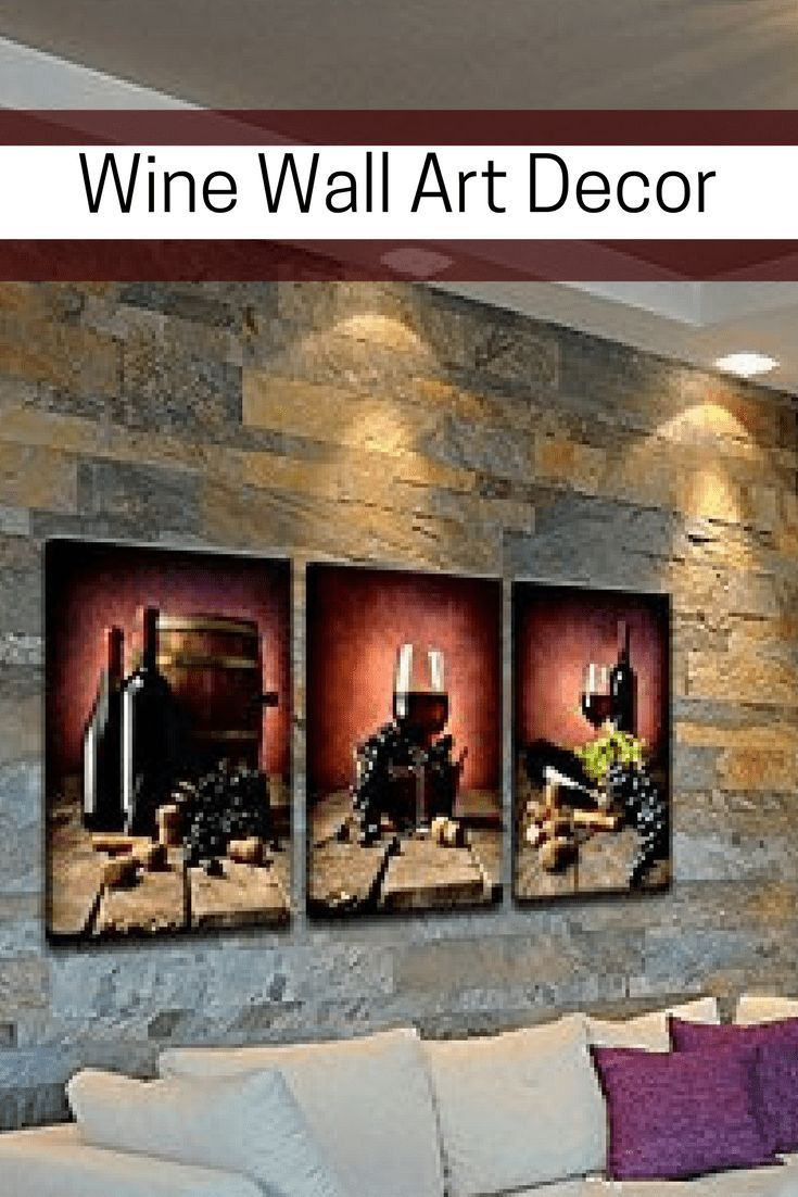 Wine wall art decor wine wall art is trendy bold and rich like a