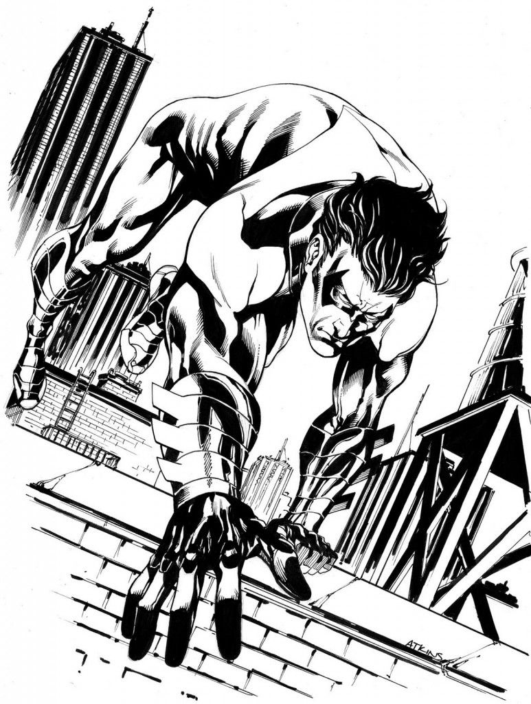 Free Printable Nightwing Coloring Pages For Kids | Pinterest