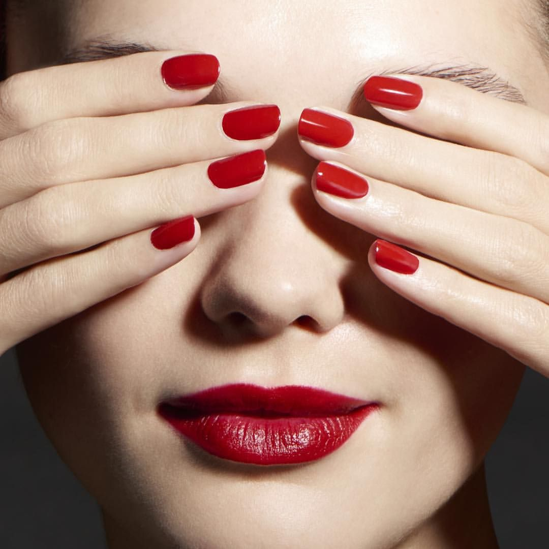 Red Nails And Red Lipstick The Signature Of A Glamorous Parisian